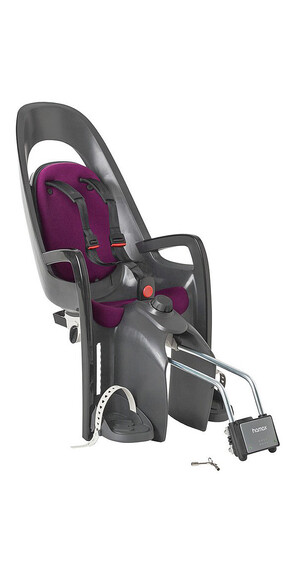 Hamax Caress Kindersitz grau/purple